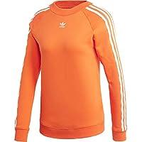 Adidas TRF Crew Sweat Sudadera, Mujer, (naranj), 34