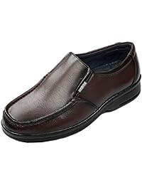 Zebra Men's Formal Brown Formal Leather Shoe