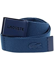 LACOSTE Gift Box Woven Strap W110 Philippine Blue