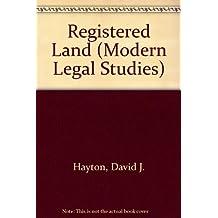 Registered Land (Modern Legal Studies)