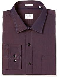 Arrow Men's Solid Slim Fit Cotton Formal Shirt