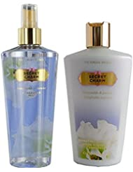 Victoria Secret Secret Charm Duo - Hydratant Lotion Corporelle 250Ml + PARFUM BRUME 250ml