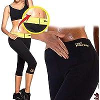 Hot Pantalones pantalón Corto Sauna Adelgazante para Fitness Varios tamaños, Negro, M
