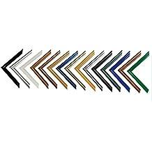 easy marco de plstico para cuadros y psteres x cm x cm color selecionado blanco