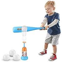 SOWOFA Juego de béisbol Infantil de béisbol, Juguete de béisbol para bebé, Bate de béisbol, Fitness, Deportes