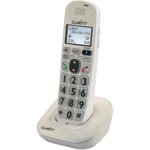 Clarity 53702 Cordless Landline Phone (White)