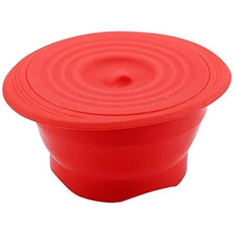 Chef Sauce CS-4500 - Vaporera de silicona, 22 x 18,5 x 10,2 cm