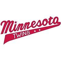Minnesota Twins Logo MLB Baseball De Haute Qualite Pare-Chocs Automobiles Autocollant 15 x 8 cm