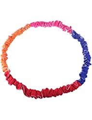 LIOOBO Gioco Elastic Rope Pull Ring per Bambini Outdoor Rainbow Rope per Team Sports School - (Colore Casuale)