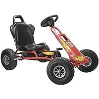 Ferbedo Airboard SUP - Kart de pedales, color rojo