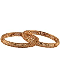 Ganapathy Gems 1 Gram Gold Plated Bangle Set (8350)