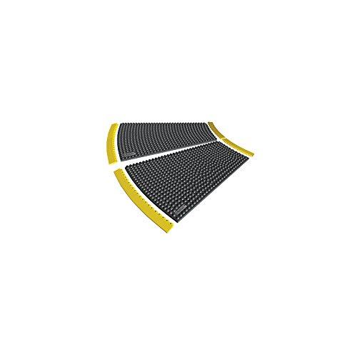 Notrax Randleiste, Nitrilgummi, genoppt - Breite 910 mm - Höhe 13 mm - Arbeitsplatzmatte Arbeitsplatzmatten Bodenmatte Randleiste Randleisten -