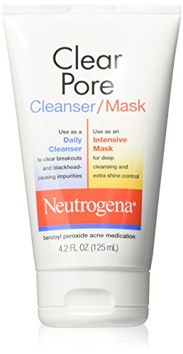 Neutrogena 0070501060001 Clear Pore Cleanser Mask 124ml
