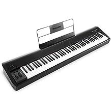 M-Audio Hammer 88 - Teclado controlador USB/MIDI profesional con 88 teclas de acción martillo y paquete de software