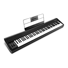 M-Audio Hammer 88 - Premium 88-Key Piano-Style Hammer-Action USB/MIDI Keyboard Controller Including Software Suite for Mac & PC