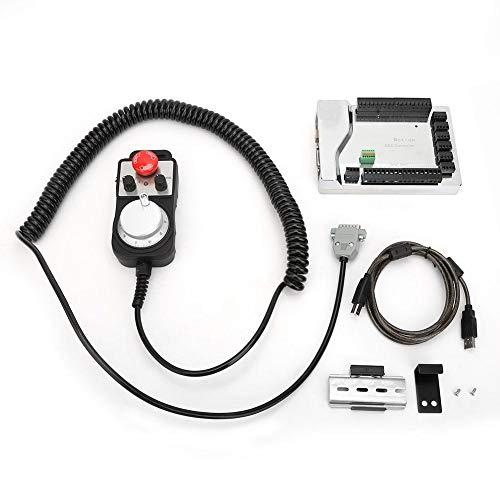 3-Achs-USB-Steuerkarte, 5V 100PPR, elektrisches Lenkrad, mit Not-Aus-Funktion, Geräteausgang, Entstörung, PWM-Geschwindigkeitsregelausgang
