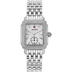 Michele Deco Mid Diamond Reloj de pulsera de mujer–MWW06V000001