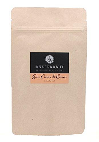 """Ankerkraut """"Sour-Cream & Onion"""", Gewürz für Sour-Cream & Onion Dip, 160g im aromadichten Beutel"""