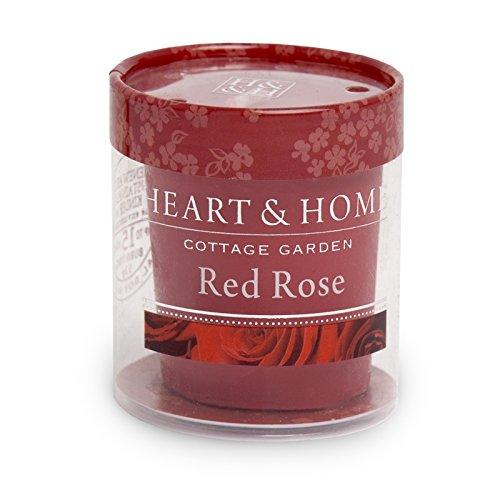 Heart & Home Bougie parfumée Rose rouge 53 g