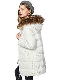 Cappotti Donna Giacche Giacca da Donna Giacca Lunga 90% Bianca Piumino  Corto Piumino con f3b068a5954