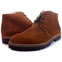 PORTMANNClassic - Stivali Desert Boots uomo , marrone (Hazelnut suede), 42 EU