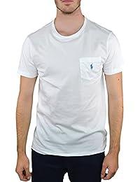 T-shirt Uni Col Rond En Coton