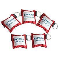 elysaid CPR Schlüsselanhänger Transparent Einweg Vavel Training Maske & Transparent Handschuh preisvergleich bei billige-tabletten.eu