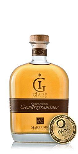 Grappa Gewürztraminer Giare 41 % 0,70 lt. - Distilleria Marzadro
