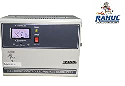 Rahul H-50110 a 5 KVA/20 AMP In Put 100-280 Volt 5 Step Best Suitable For 2 Tonns Air Conditioners Auto Matic Voltage Stabilizer