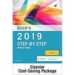 Buck's Medical Coding Online for Step-By-Step Medical Coding, 2019 Edition (Access Code and Textbook Package)