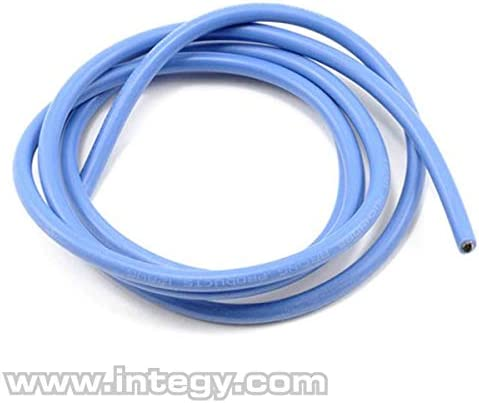 Muchmore Racing RC Model Hop-ups MMR-MR-WB12 Muchmore Racing 12 AWG Silver Wire - Blue 90cm | Shop