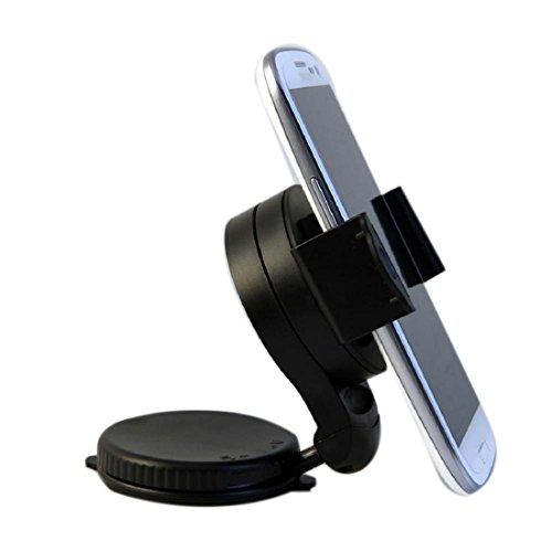 Móvil Cube Kfz-Halterung (mit Saugnapf, um 360° drehbar, für Windschutzscheibe oder Armaturenbrett, für iPhone/ iPodTouch und andere Geräte, waagerechte oder senkrechte Positionierung) (Brand New Ipod Touch)