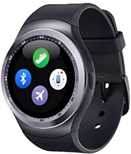 ESTAR Bluetooth Smartwatch with SIM Card Support   Android 5.1 OS   Facebook   Whatsapp   Activity Tracker   Fitness Band   Music   Micro SD card Support COMPATIBLE with Sony Xperia XZ