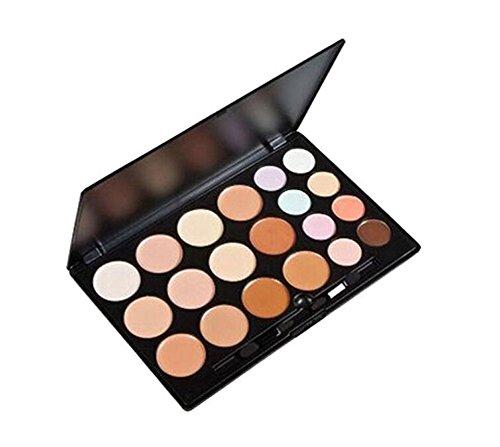 Cosmétique 20 couleurs professionnelle Correcteur Camouflage visage souligner kit Contour et mettre en Évidence Crème Fond de teint Palette de maquillage Ensemble