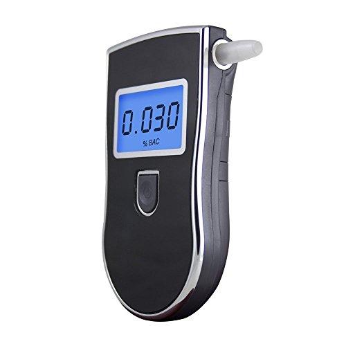GuDoQi Probador de Alcohol Pantalla LCD Analizador de Alcoholímetro con Sensor Semiconductor