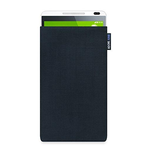 """Adore June Huawei Mediapad X1 7.0 Hülle \""""Classic\"""" aus original Cordura in schwarz. Elegante Handytasche aus widerstandsfähigem Textil-Stoff mit Display-Reinigungseffekt für Huawei Mediapad X1 7.0. Hochwertige Tasche als treuer Begleiter."""