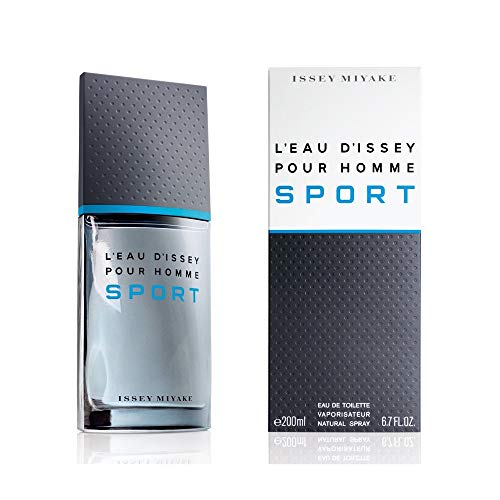 Issey miyake Sport Homme/Men, Eau de Toilette, vaporistauer/spray 200 ml, per stuk Pack (1 x 200 ml)