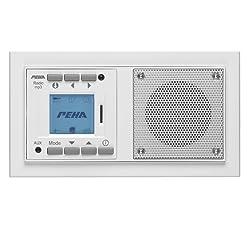 PEHA MP3 Unterputz Radio AudioPoint Im Nova Design Mit Funksender, Rahmen  Reinweiß