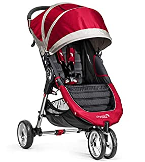 Baby Jogger City Mini 3 - Silla de paseo, color rojo/gris (B00G8ZQ4N8) | Amazon price tracker / tracking, Amazon price history charts, Amazon price watches, Amazon price drop alerts