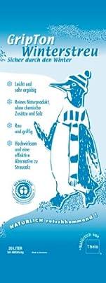 GripTon ökologisches Winterstreu, sagen Sie Schnee und Eis den Kampf an