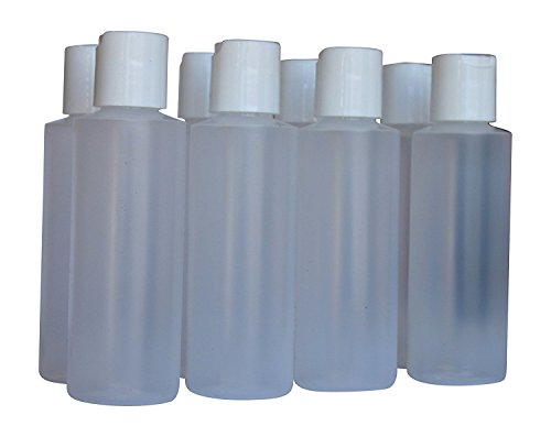 Pinnacle Mercantile Kunststoffflaschen mit Klappdeckel, leer, 113 ml, 8 Stück -