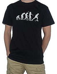 Evolution Skateboard T-Shirt - Evolution of Man - Skateboarding Tee