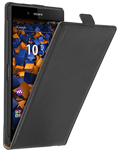 mumbi Leder Flip Case für Sony Xperia Z Ultra Tasche