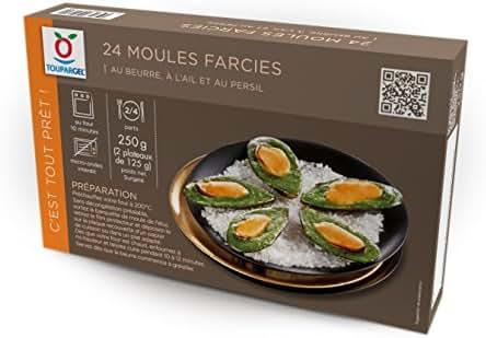 Toupargel 24 Moules Farcies 250 g