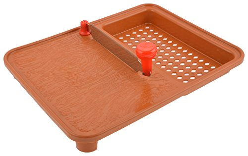 R&G Ankur R.G. Plastic Cutting Board, Brown  available at amazon for Rs.120