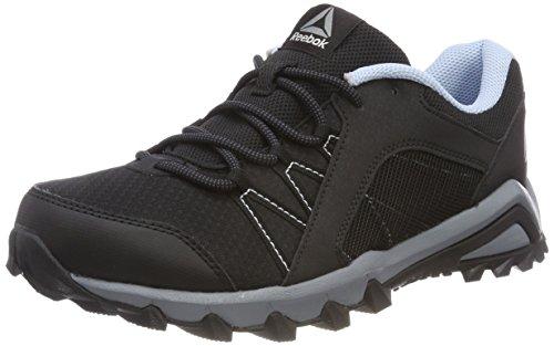 Reebok Damen Trailgrip 6.0 Walkingschuhe, Schwarz (Black/Asteroid Dust/Ash Grey/Fresh Blue), 41 EU