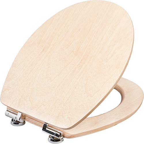 Cornat WC-Sitz Ligna Plus - Hochwertiges Echtholz