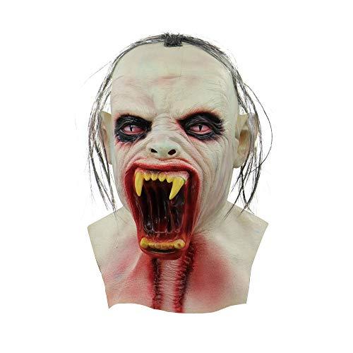 Catwoman Böse Kostüm - Gruselige Maske Halloween Scary Horror Ghost Blut Kopf Maske Safe Latex Zombie Kopfbedeckung Cosplay Requisiten
