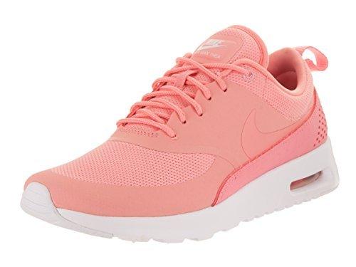 Nike WMNS Air Max Thea - Bright Melon/Bright Melon-Whit, Größe:6 (Nike Größe 6 Schuhe)