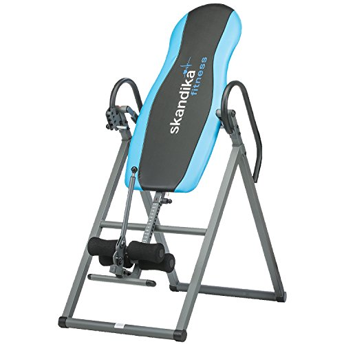 SKANDIKA Gravity Coach - Table d'inversion Pliante pour Exercices du Dos (4 Positions, Rembourrage...